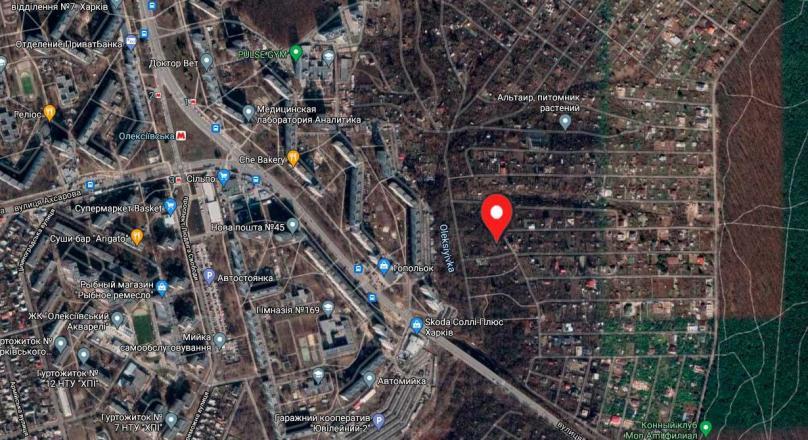 Садовый участок с домом пр-т Науки 65 м. Алексеевская